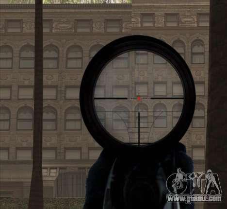 Sniper Scope v2 for GTA San Andreas eighth screenshot
