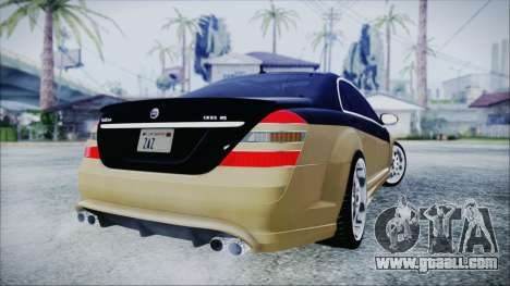 Carlsson Aigner CK65 RS v1 for GTA San Andreas back left view