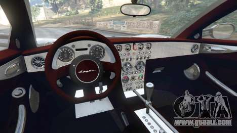 Spyker C8 Aileron for GTA 5
