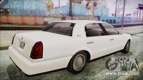 GTA 5 Albany Washington IVF for GTA San Andreas left view