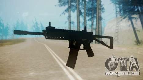 KAC PDW for GTA San Andreas second screenshot