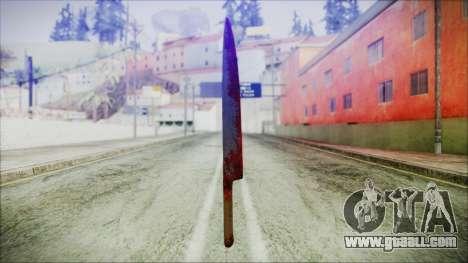 Helloween Butcher Knife for GTA San Andreas third screenshot