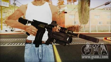 M4 SpecOps for GTA San Andreas third screenshot