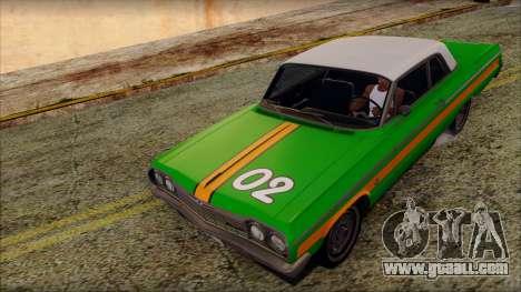 Chevrolet Impala SS 1964 Final for GTA San Andreas interior