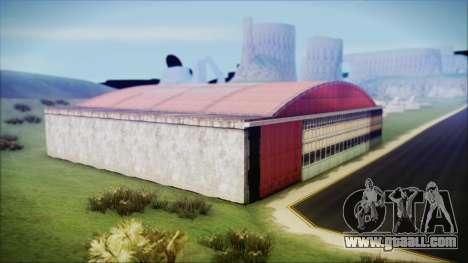 HD Desert Hangar Mipmapped for GTA San Andreas