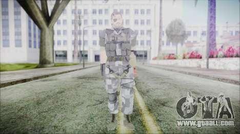 MGSV Phantom Pain Snake Normal Animals for GTA San Andreas second screenshot