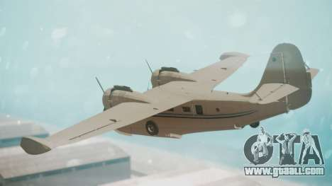 Grumman G-21 Goose WhiteBlueLines for GTA San Andreas left view