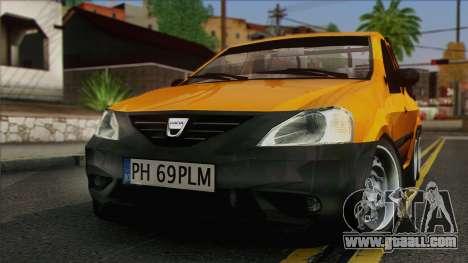Dacia Logan Pickup 6x6 for GTA San Andreas right view