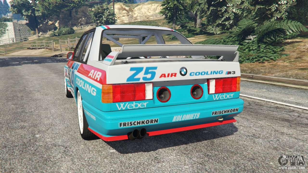 BMW M3 (E30) 1991 Z5 v1.2 for GTA 5