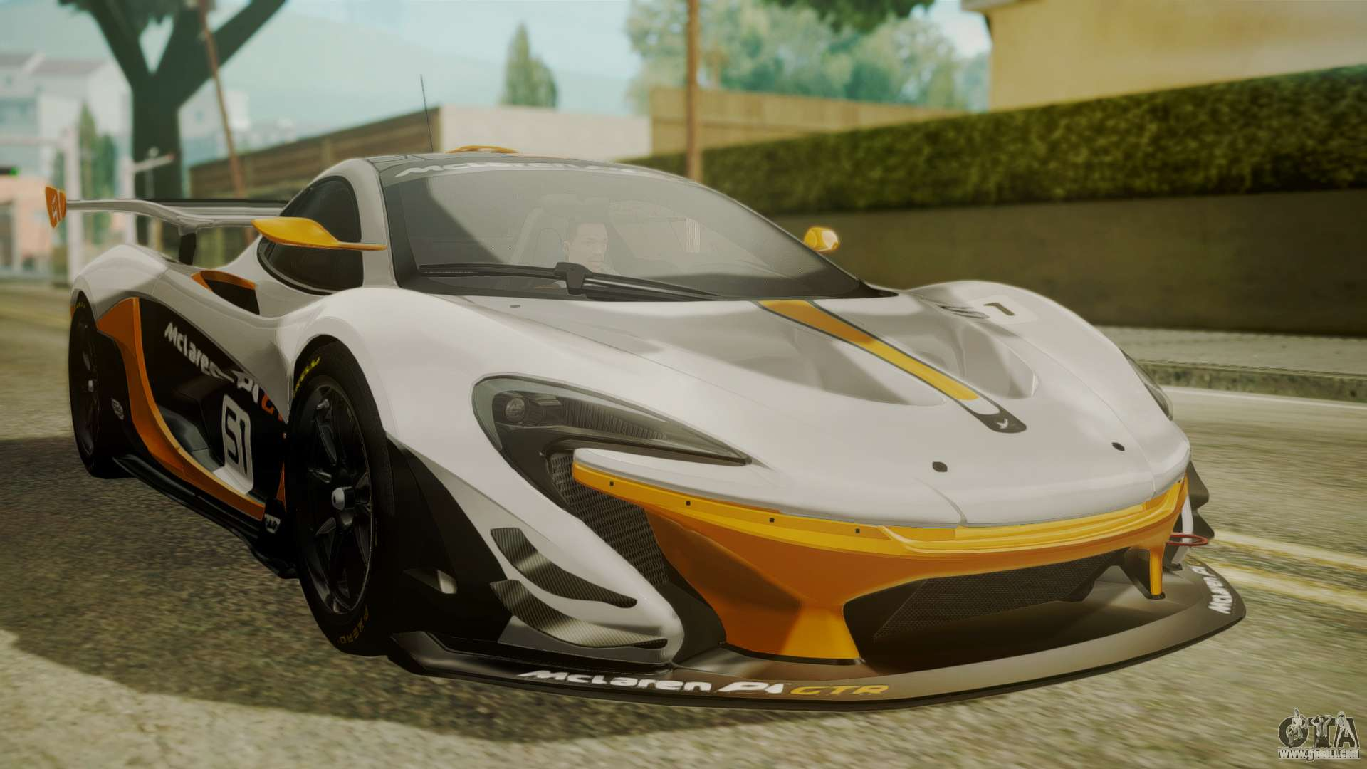 mclaren p1 gtr 2015 for gta san andreas. Black Bedroom Furniture Sets. Home Design Ideas