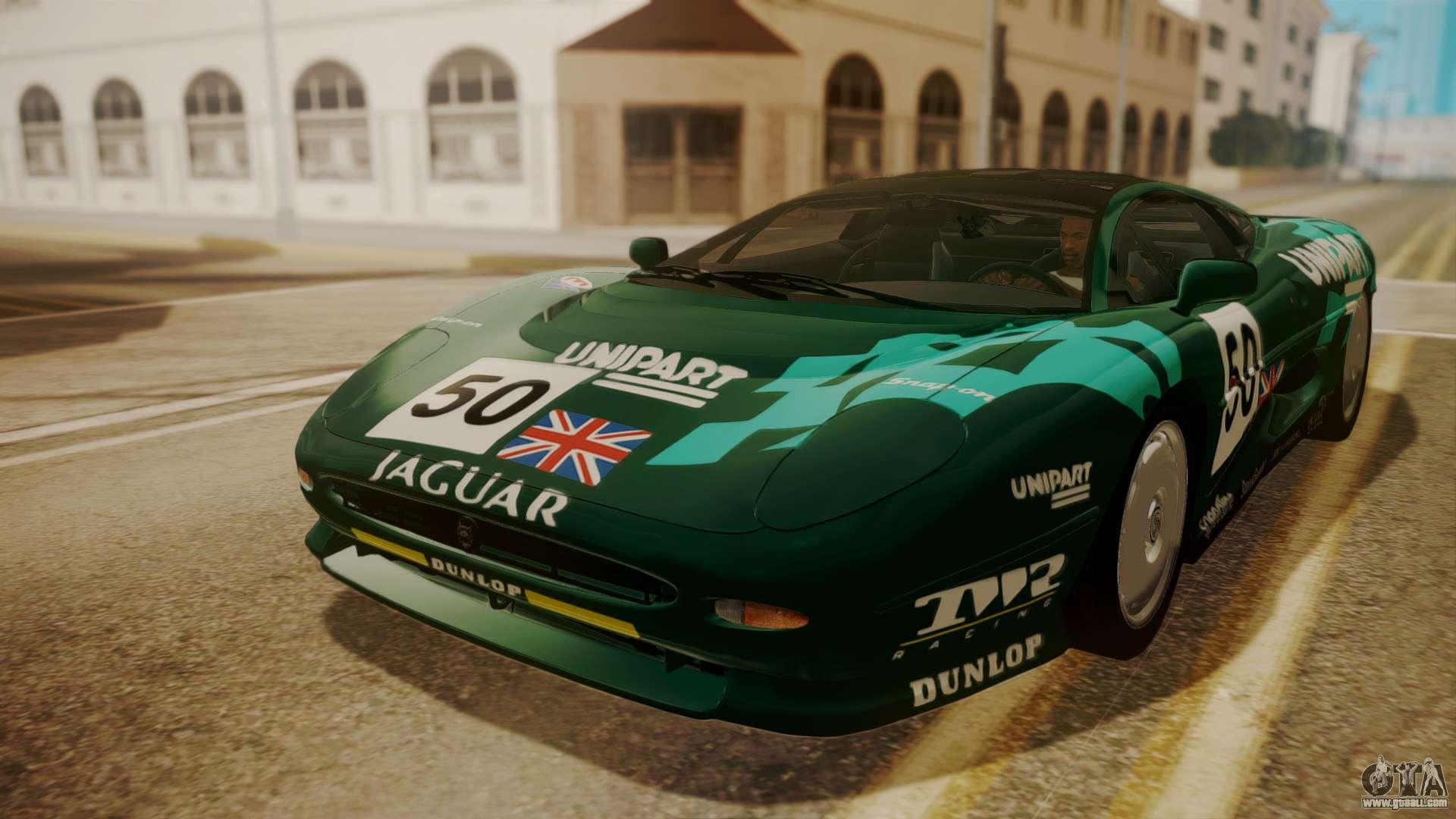 Jaguar XJ220 1992 HQLM for GTA San Andreas