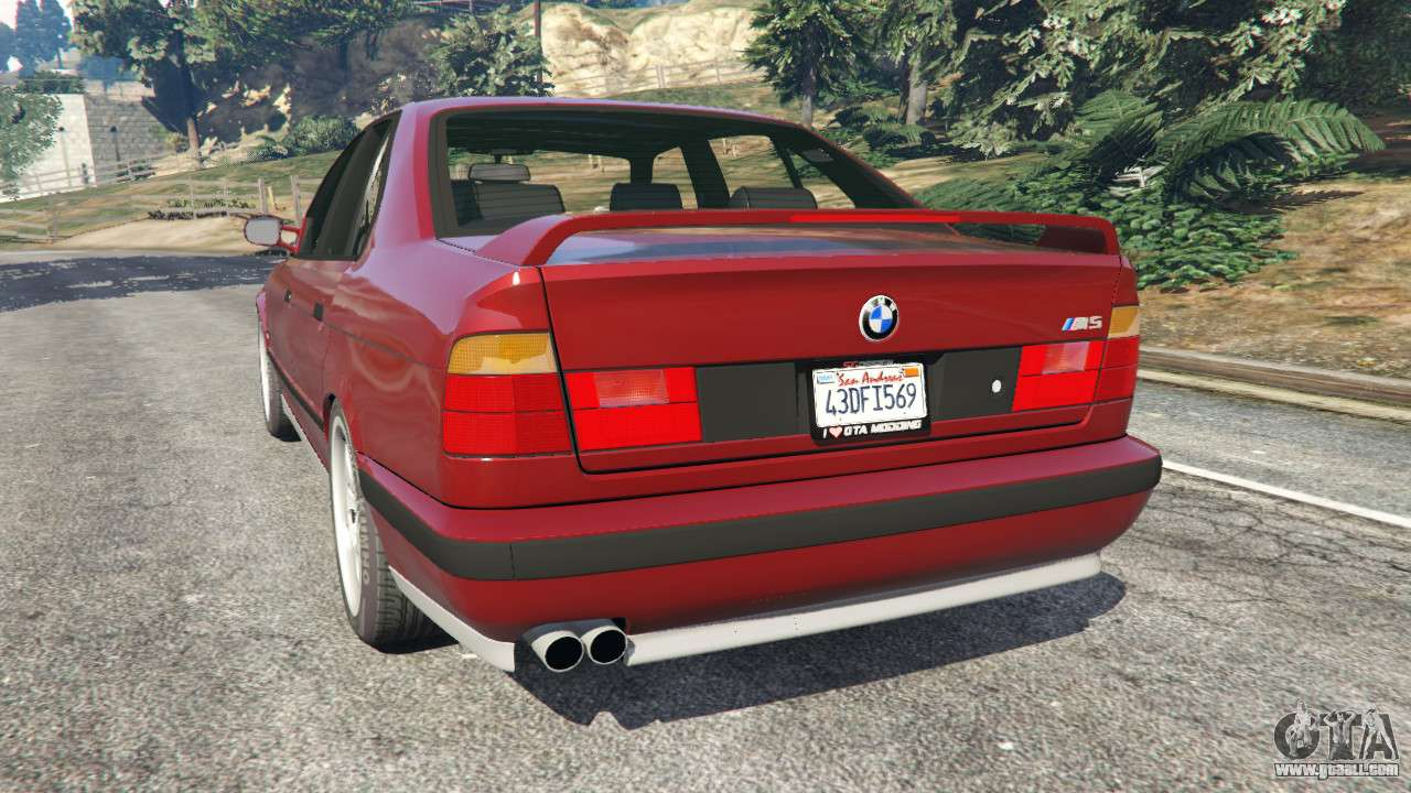bmw m5 e34 1991 for gta 5. Black Bedroom Furniture Sets. Home Design Ideas