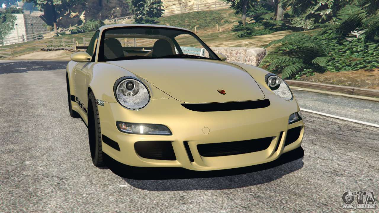 porsche 911 997 gt3 rs 2007 for gta 5. Black Bedroom Furniture Sets. Home Design Ideas