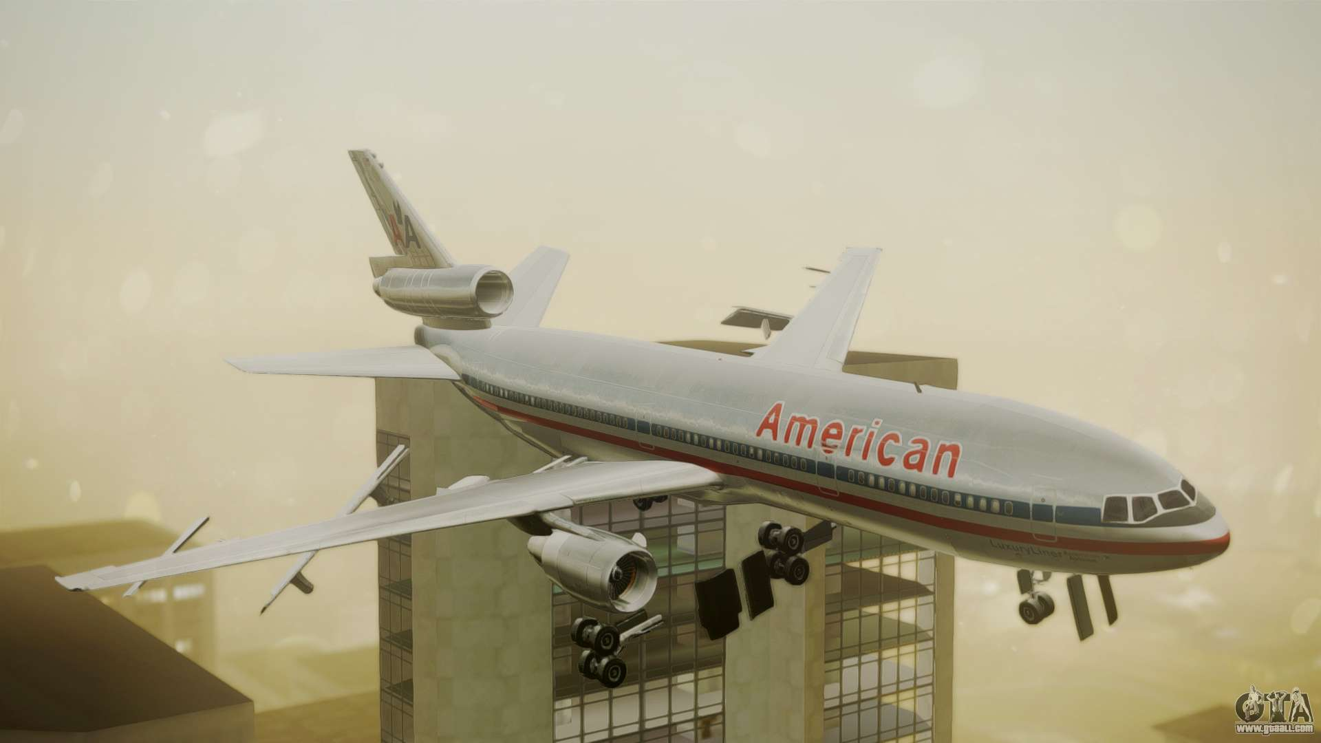 Dc 10 10 American Airlines Luxury Liner For Gta San Andreas
