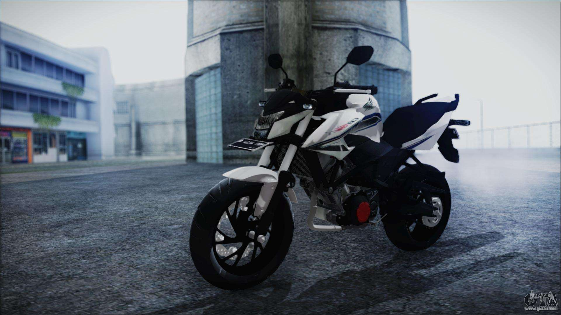 Honda CB150R White For GTA San Andreas