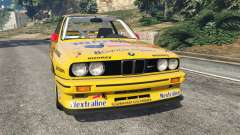 BMW M3 (E30) 1991 [10 strikes] v1.2 for GTA 5