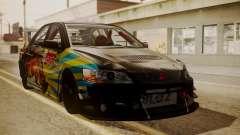 Mitsubishi Lancer Evolution Pushkar for GTA San Andreas