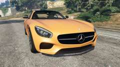 Mercedes-Benz AMG GT 2016 v2.0 for GTA 5
