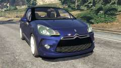 Citroen DS3 2011 for GTA 5
