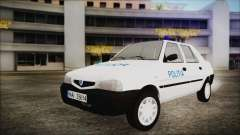 Dacia Solenza Politia for GTA San Andreas