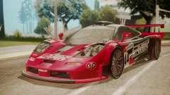 McLaren F1 GTR 1998 Team Lark for GTA San Andreas