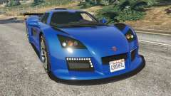 Gumpert Apollo S for GTA 5