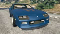 Chevrolet Camaro IROC-Z [Beta 3] for GTA 5
