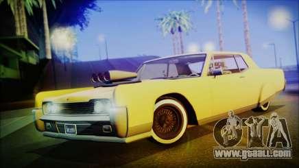 GTA 5 Vapid Chino Hydraulic Version IVF for GTA San Andreas