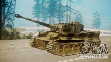 Panzerkampfwagen VI Tiger Ausf. H1 for GTA San Andreas