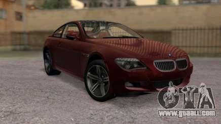 BMW M6 E63 for GTA San Andreas