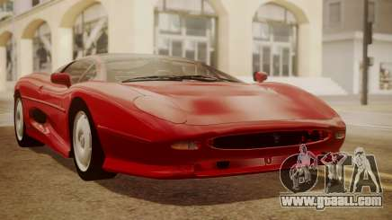 Jaguar XJ220 1992 HQLM for GTA San Andreas