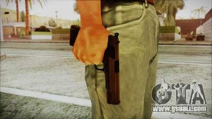 Original Colt 45 HD for GTA San Andreas