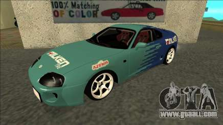 Toyota Supra Falken Drift for GTA San Andreas