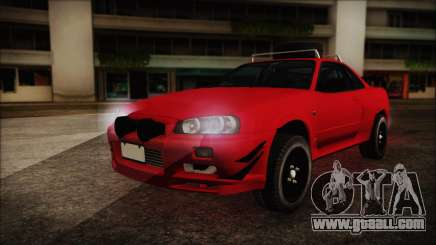 Nissan Skyline R34 Offroad Spec for GTA San Andreas