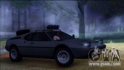 BMW M1 E26 Rusty Rebel for GTA San Andreas