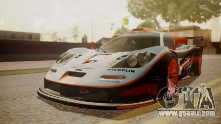 McLaren F1 GTR 1998 Gulf Team for GTA San Andreas