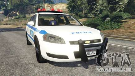Chevrolet Impala NYPD for GTA 5