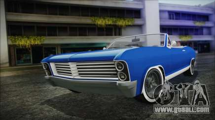 GTA 5 Albany Buccaneer Hydra Version for GTA San Andreas