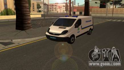 Opel Vivaro Police Of Ukraine for GTA San Andreas