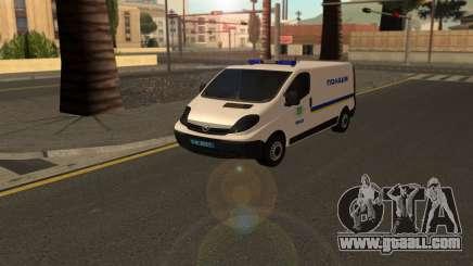 Opel Vivaro Police Of Ukraine for GTA San Andreas