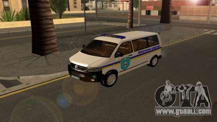 Volkswagen Transporter Minesweeper Ukraine for GTA San Andreas