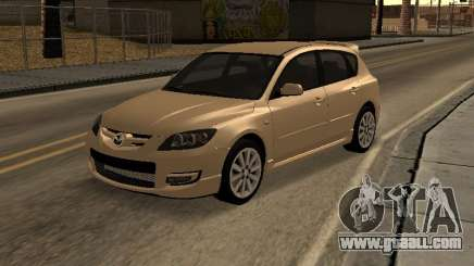Mazda 3 MPS Tunable for GTA San Andreas