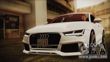 Audi RS7 Sportback 2015 for GTA San Andreas