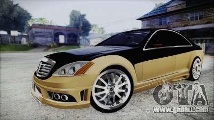 Carlsson Aigner CK65 RS v1 for GTA San Andreas