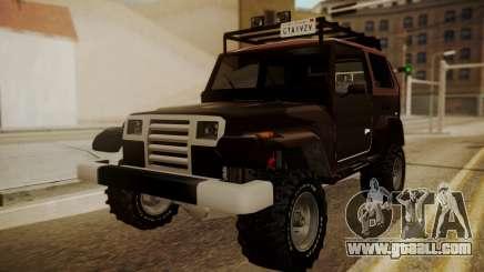 New Mesa Wild for GTA San Andreas