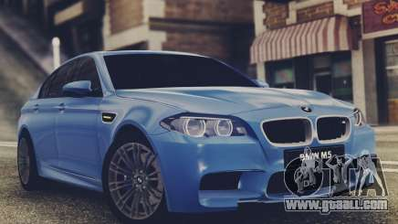 BMW M5 F10 Stock MTA Version for GTA San Andreas