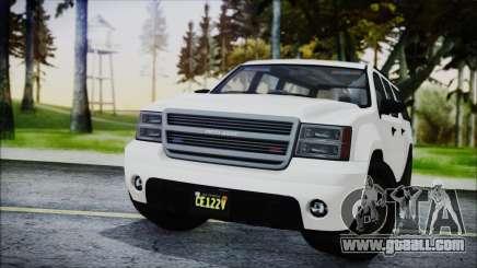 GTA 5 Declasse Granger FIB SUV for GTA San Andreas