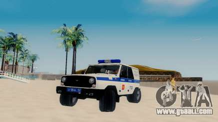 UAZ Hunter SPSP for GTA San Andreas