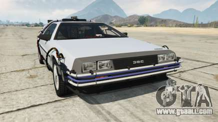 DeLorean DMC-12 Back To The Future for GTA 5