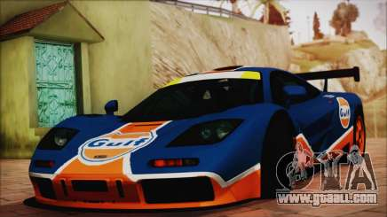 McLaren F1 GTR 1996 Gulf (GoodWood 2008) for GTA San Andreas